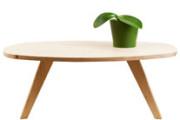 Tavolino da té ovale