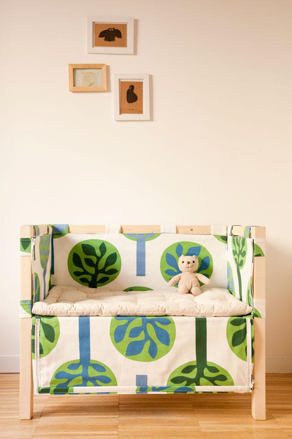 Culla per il co sleeping design per bambini - Culla che si attacca al letto ikea ...