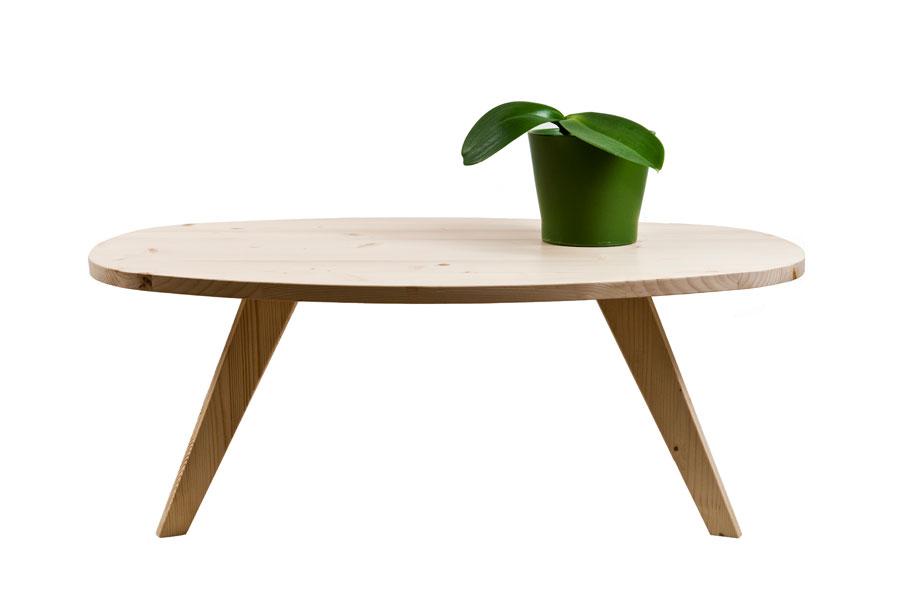 Tavolino da té ovale - Design e arredamento